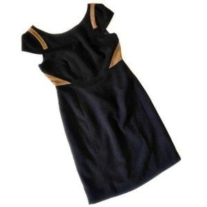 Miss Me MM Couture Capped Sleeve Colorblock dress new